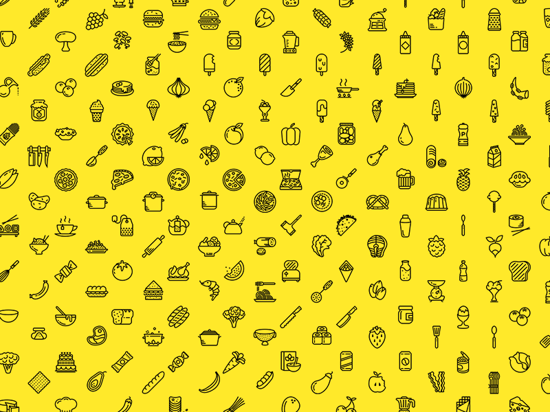 Cute Cartoon Girl Wallpaper Download 230 Food Icons Sketch Freebie Download Free Resource For