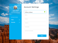 Account Settings Sketch freebie - Download free resource ...