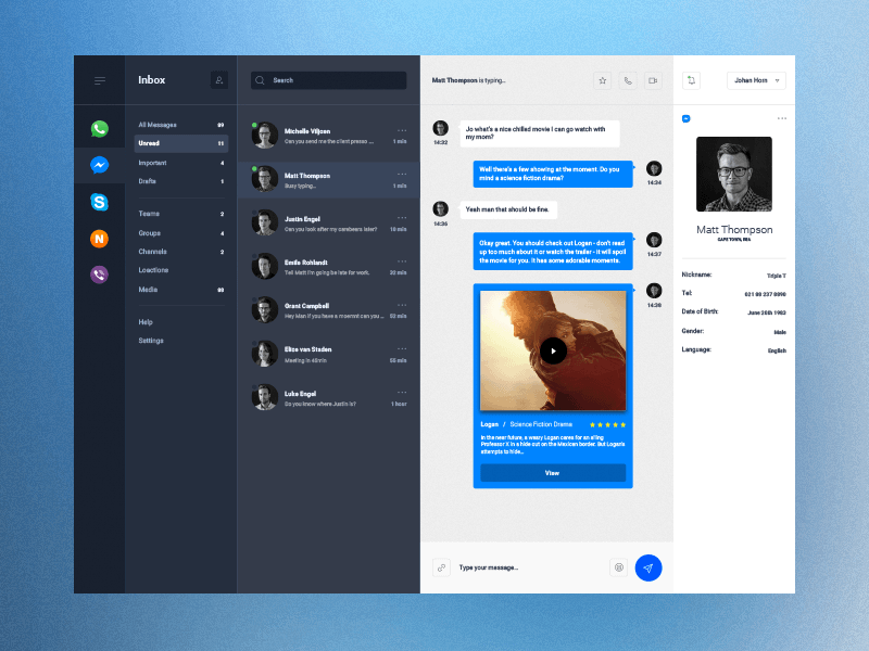 Desktop UI Kit And Apps For Windows Linux And Mac Free