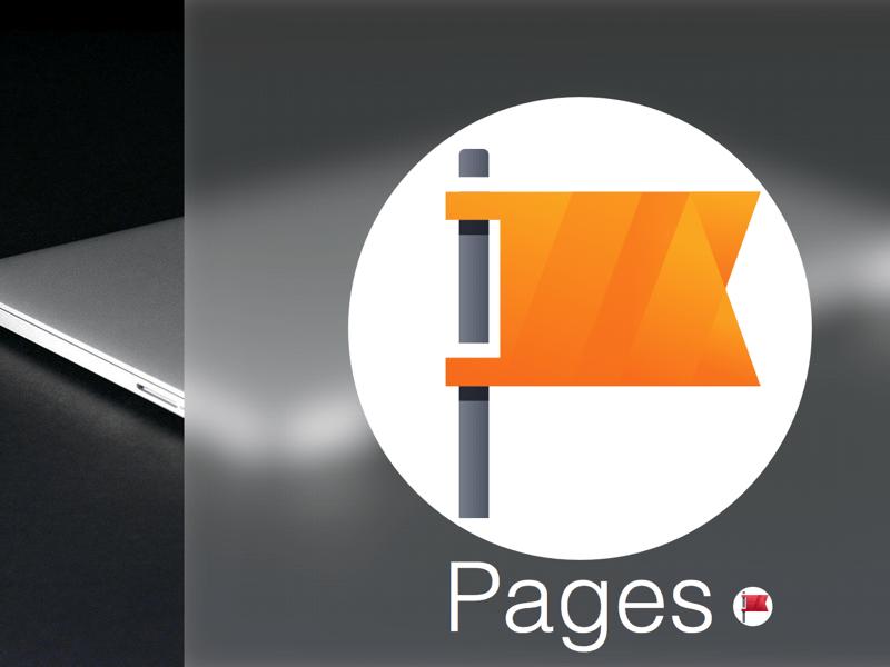 Flag pages facebook app Sketch freebie  Download free