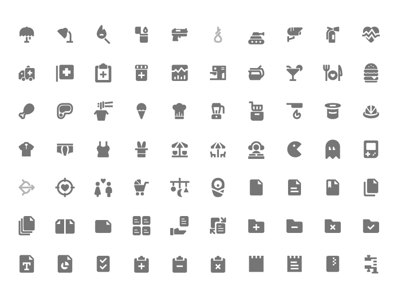 350 Free Material Design Icons Sketch Freebie Download