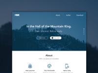 HMK Website Template Sketch freebie - Download free ...