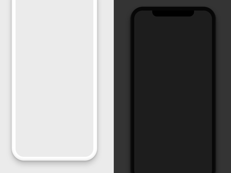 Iphone X Notch Wallpaper Device Mockups Apple Iphone Samsung Galaxy Android