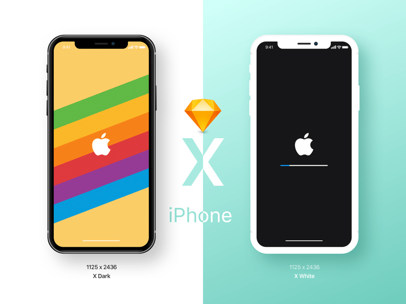 Iphone X Wallpaper Size Perspective Iphone Ui Kit Iphone 6 Gui 6 Plus Mockup Templates Free