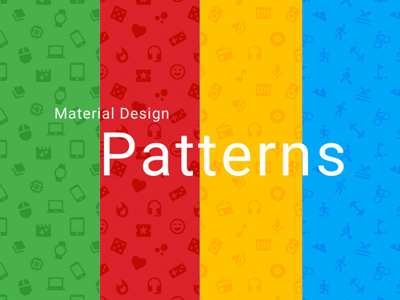 Material Design GUI And App Templates For Android Free