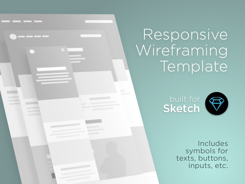 web wireframe template