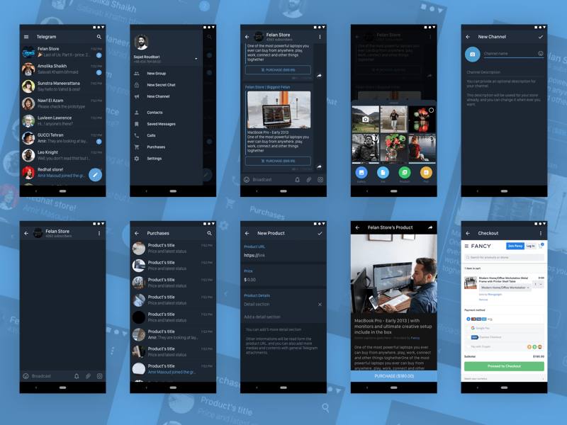 There you can find very good and quality tutorials for adobe photoshop (beginner, intermediate and advanced levels), vector images and other useful tools. Telegram Messenger For Android In Dark Mode Sketch Freebie Download Free Resource For Sketch Sketch App Sources