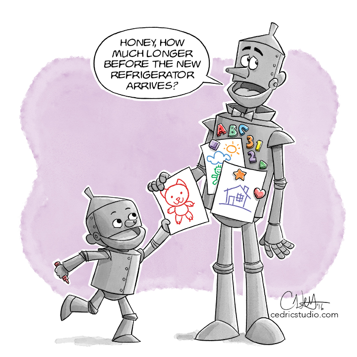 Tin Man At Home