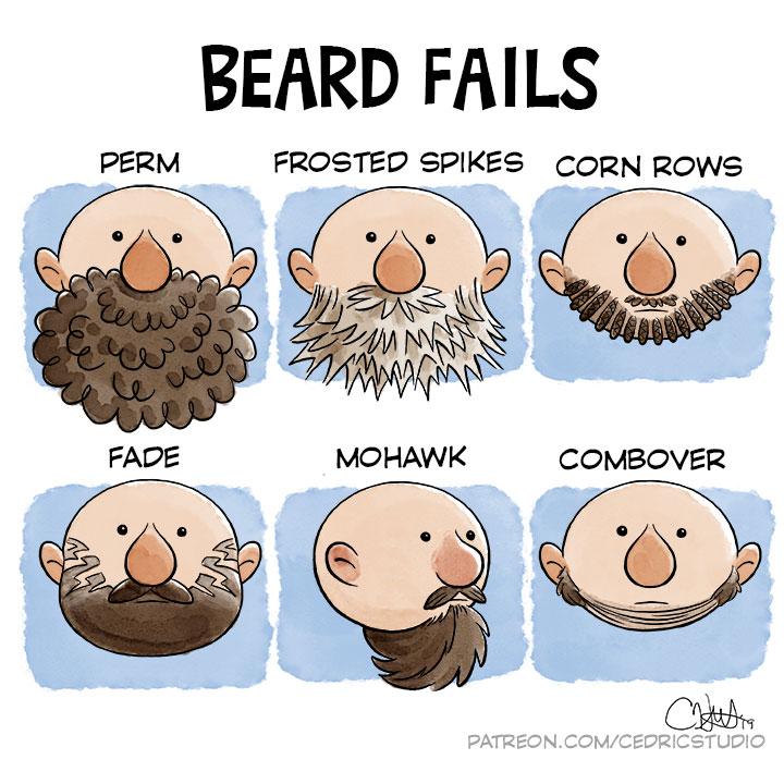 Beard Fails