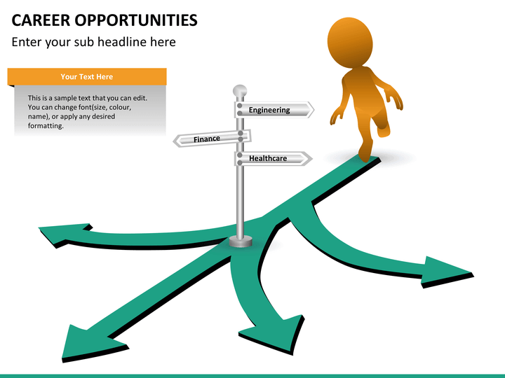 Career Opportunities PowerPoint Template SketchBubble
