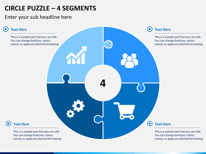 puzzle ppt template free