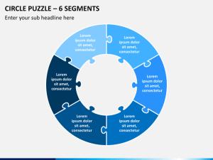 Circle Puzzle PowerPoint Template | SketchBubble