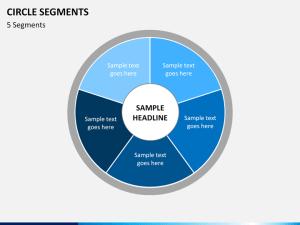 Circle Segments Diagram PowerPoint | SketchBubble