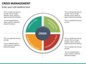 Crisis Management PowerPoint Template | SketchBubble