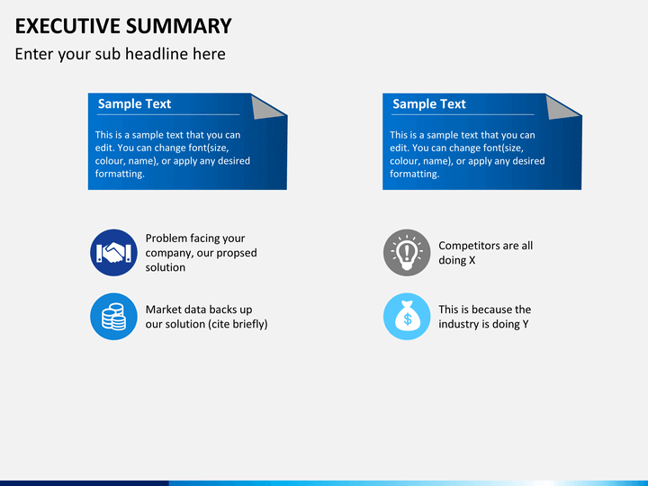 executive summary powerpoint