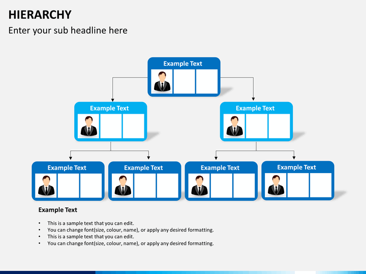 ppt hierarchy template