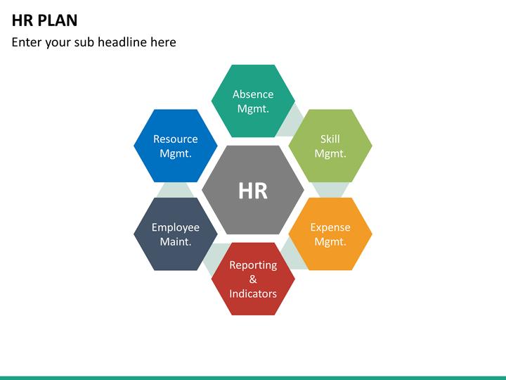 HR Plan PowerPoint Template SketchBubble