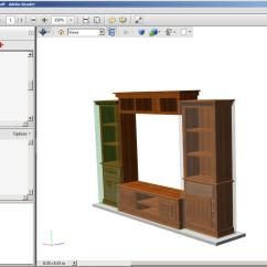 Kitchen Cabinet Software Pantry Organizer Pdf 3d Images In Design Sketchlist