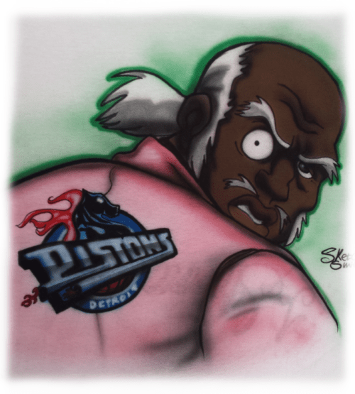 Uncle Ruckus, Airbrushed