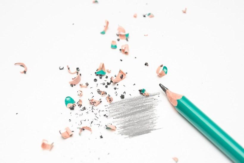 Bleistift richtig einsetzen