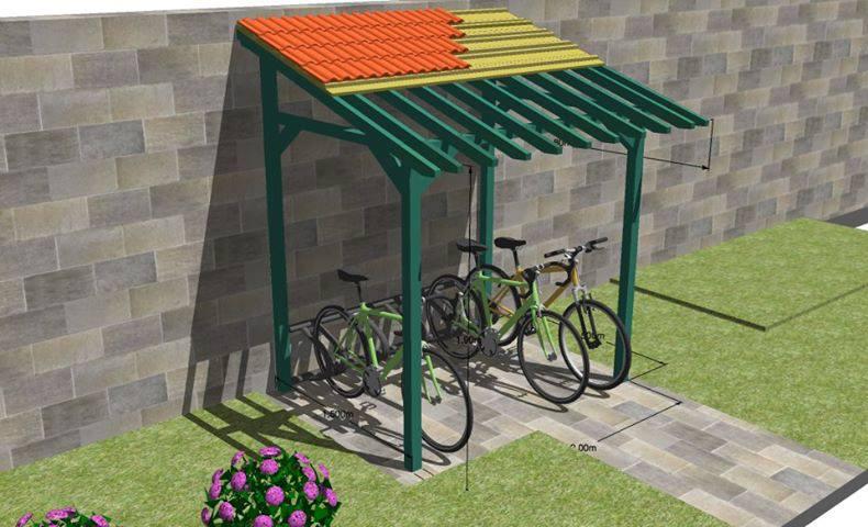 Modèle Sketchup 3D Appentis à vélo