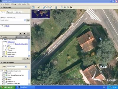 Tutoriel SketchUp Le jardin dans Google Earth