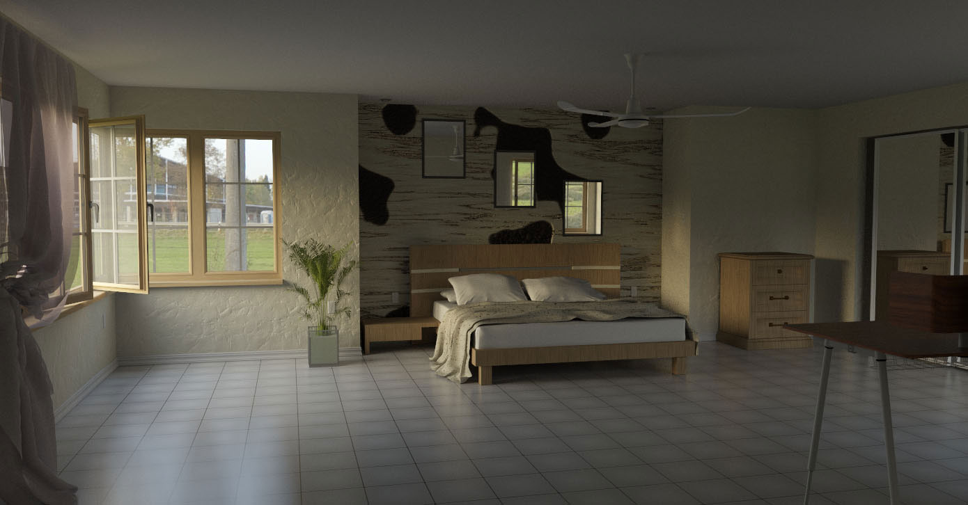 Generate a high quality rendering with your sketchup model
