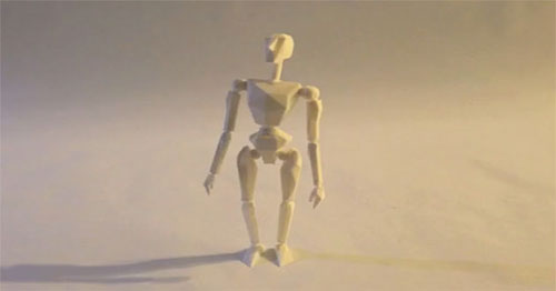 Mini film made ​​on Google Sketchup and a 3D printer