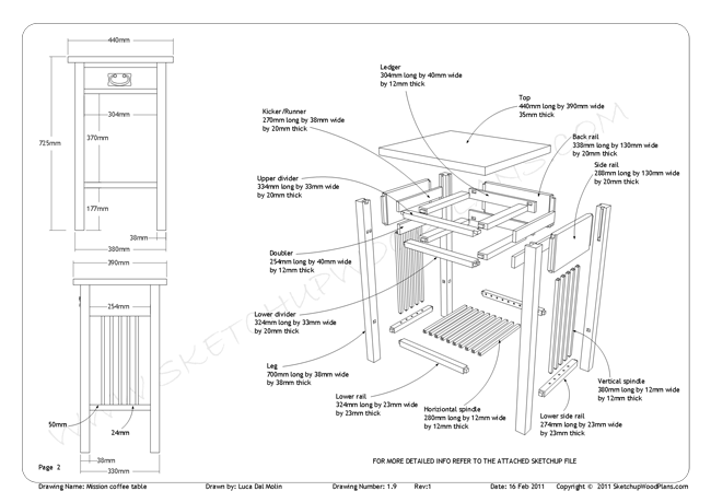 Sketchup Woodworking, Lean To Wood Store Plans, Wooden