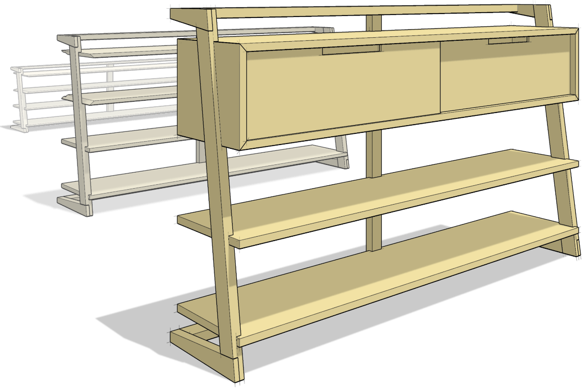 hight resolution of 3d modeling for woodworkers