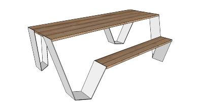 Sketchup Components 3D Warehouse  Outdoor Furniture
