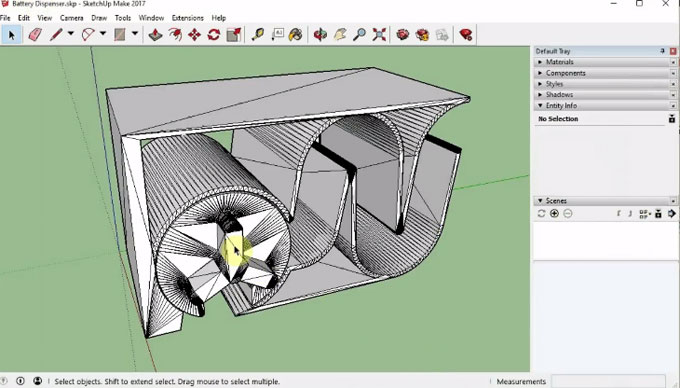 3D print with print a thing – The newest sketchup extension in extension warehouse
