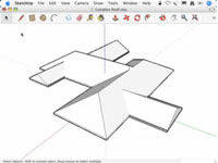 SketchUp Intersect with Model Tutorial