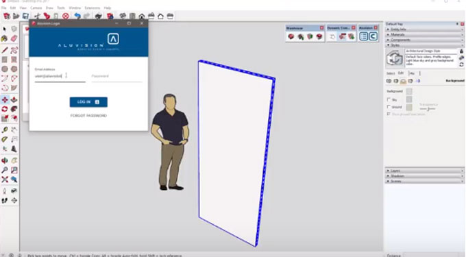 Aluvision for SketchUp – The brand new sketchup extension is just launched