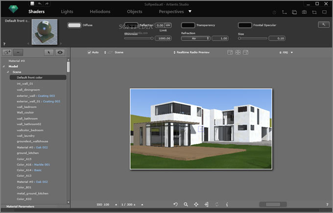 Abvent S.A has introduced Artlantis v7 for improved rendering