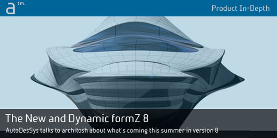 AutoDesSys launched formZ v8.0.2 with sketchup 2015 import support