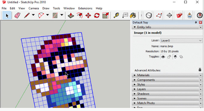 Bitmap to Mesh – The newest sketchup extension