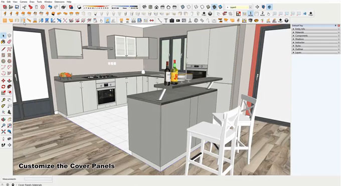 how to get rid of kitchen annotatitions revit