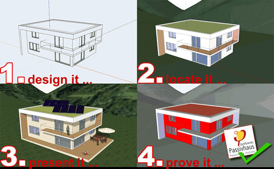 An exclusive course on designPH, the most recognized sketchup plugin for energy modelers