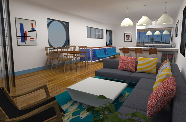 An exclusive course on interior design with AutoCAD and Sketchup