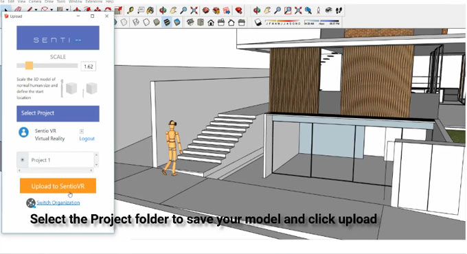 SentioVR: Sketchup to Virtual Reality (VR) walkthroughs – The newest sketchup extension