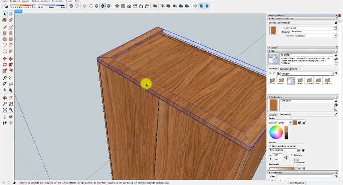 How to apply wood texture maps to your sketchup models
