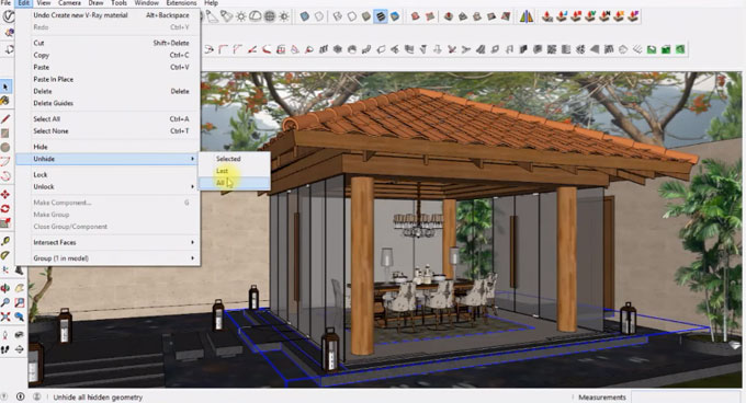 How to use sketchup to produce a model in Gazebo