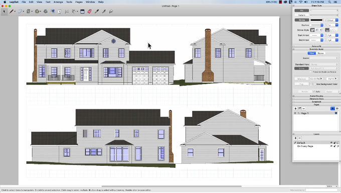 How to convert sketchup scenes into layout viewports