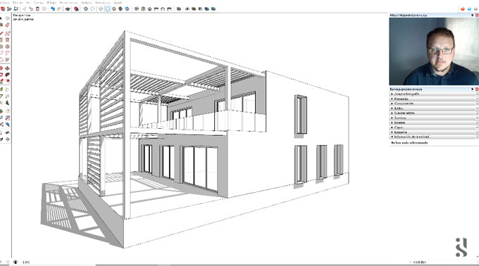 How to generate a sketchup model from different CAD drawings