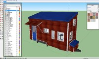 How to use sketchup make for designing a tiny house from