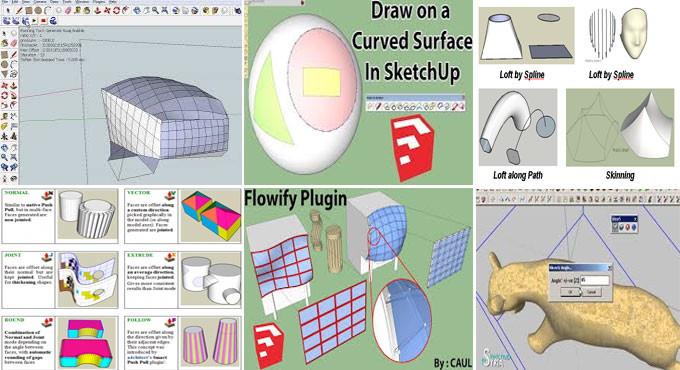 Six free sketchup plugins to improve your design skill