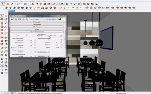 How to create perfect interior lighting and rendering with v-ray sketchup