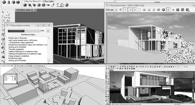 3D rendering with vray 3.2 for Sketchup and Rhino 5