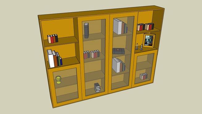 Massive bookshelf